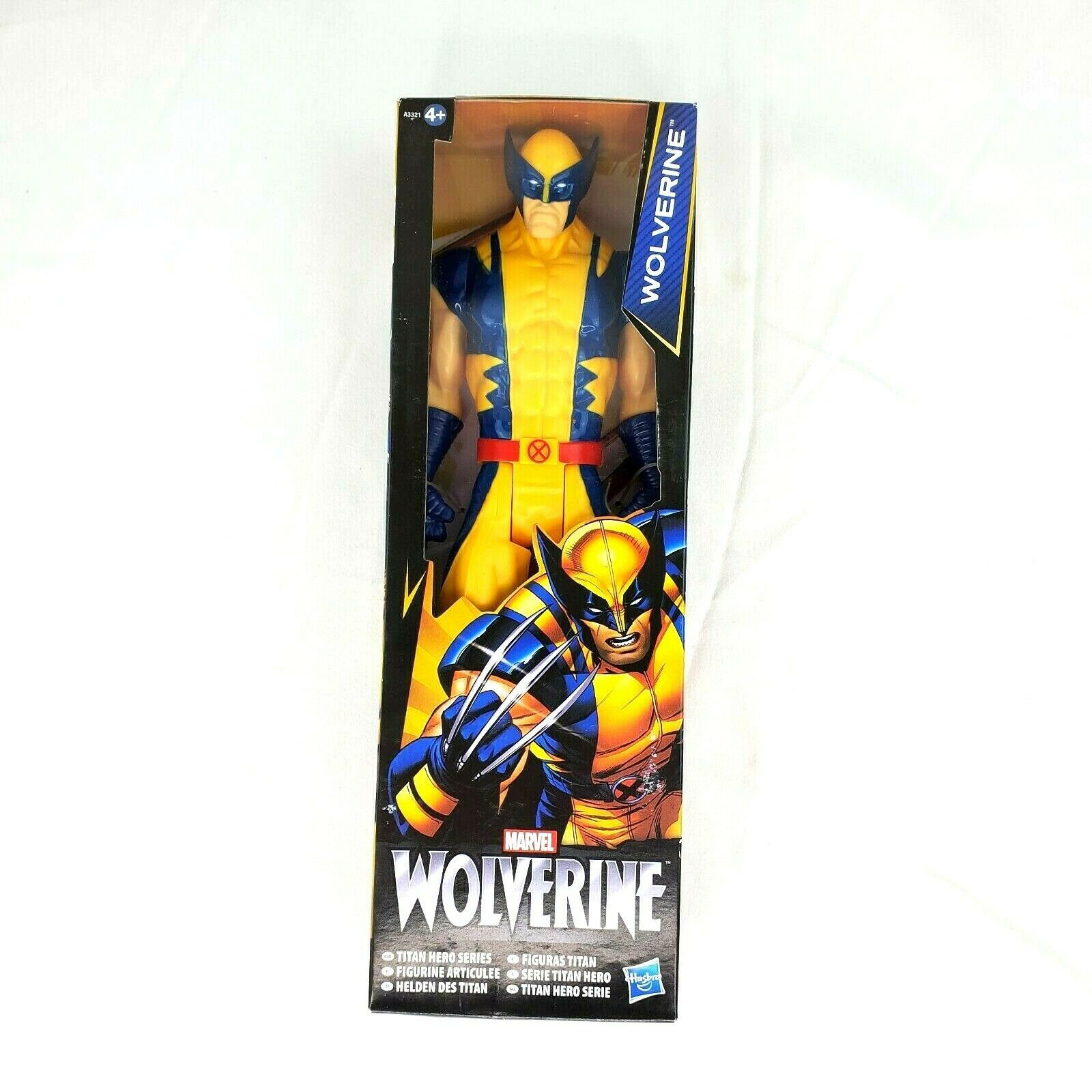 "Primary image for Marvel Titan Hero Series Yellow Suit Wolverine 12"" Inch Action Figure Toy"