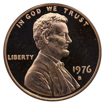1976-S Lincoln Memorial Cent Penny Gem Proof US Mint Coin Uncirculated UNC - $7.99