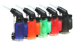 20 PACK 45 Degree Jet Angle Torch Lighter Wholesale Bulk Lot Cigar Light... - $30.90