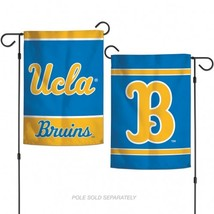 UCLA Bruins Flag 12x18 Garden Style 2 Sided**Free Shipping** - $19.80