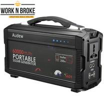 AUDEW Portable Generator Power Inverter 220Wh/60000mAh  Power Supply Wit... - $316.61