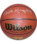 Bobby Knight signed NCAA Wilson Indoor/Outdoor Basketball (Indiana Hoosi... - $128.95