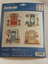 "JANLYNN Counted Cross Stitch Kit  FOUR SEASONS  Doors # 015-0222 14""x14""... - $33.87"