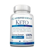 Approved Science® Keto: Pure Exogenous 4 Ketone Salts Calcium, Sodium, M... - $70.79