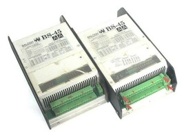 LOT OF 2 BALOGH BS-45-AA SERIAL CONTROL MODULES BS45AA