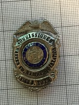 Warren County New Jersey Commissioner Lesser J. Toth Badge - $85.00