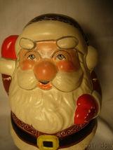 Vaillancourt Folk Art Round Jolly Gingerbread Santa Signed Low Number image 5