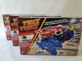 BUY ONE GET 2 FREE!!!!  TRIX TRUX Monster Trucks That Flip, Climb And Zip - - $29.69