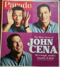 The Many Faces Of John Cena @ Parade Las Vegas Mag Nov 2017 - $3.95