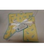 New My Baby Super Soft Hooded Towel & Washcloth matching set Unisex ele... - $11.57