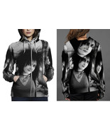 Siouxsie and the banshees hoodie zipper fullprint for women thumbtall