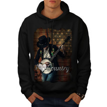 Country Music Player Sweatshirt Hoody Music Love Men Hoodie - $20.99+