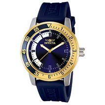 Invicta Men's 12847 Specialty Stainless Steel Watch with Blue Band - $95.23