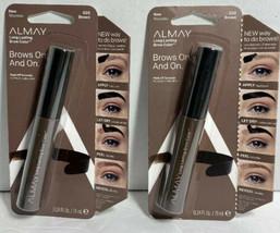 2 Packs Almay Long Lasting Brow Color, 020 Brown New - $16.97