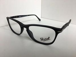 New Persol 3116-V 9000 54mm Rx Matte Black Eyeglasses Frame Hand Made in... - $75.99