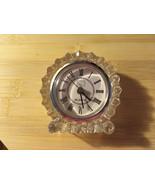 Lead Crystal Cut Quartz Fifth Avenue Clock - $28.00
