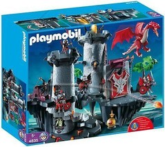 Playmobil #4835 Great Dragon Castle Playset New Sealed - $279.57