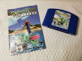 BASS MASTERS 2000 (Nintendo 64) N64 Tested with Manual - $9.95