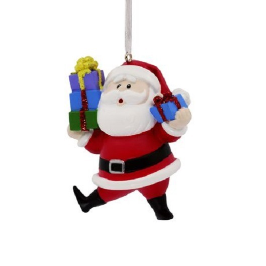 Primary image for 2018 Hallmark Santa Claus Christmas Tree Ornament