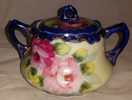 Vintage Ceramic Sugar Bowl - $22.46