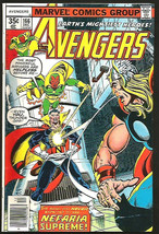 AVENGERS #166  MARVEL COMICS 1977 Shooter BYRNE Marcos 1st Series Count ... - $23.76
