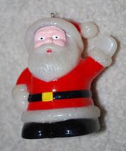 """Vintage Santa Claus Plastic Christmas Ornament Tabletop Decoration 3.5"""" - $8.86"""