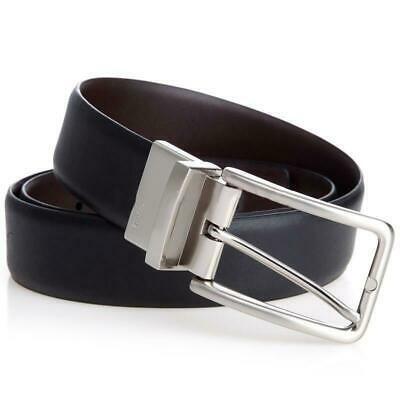 Calvin Klein Men's Reversible Leather Belt 35mm 73879 BBR New W/Defect