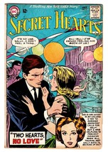 Secret Hearts #97 Comic book-DC Silver Age Romance Vg - $31.53