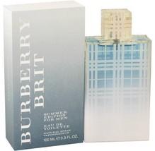 Burberry Brit Summer Edition Cologne 3.3 Oz Eau De Toilette Spray  image 6
