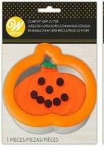 Pumpkin Comfort Grip Cookie Cutter Wilton - $3.49