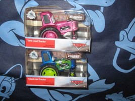 DISNEY STORE CARS TANK COAT & CLUTCH AID TRACTOR CHASER SERIES. NEW. - $48.39