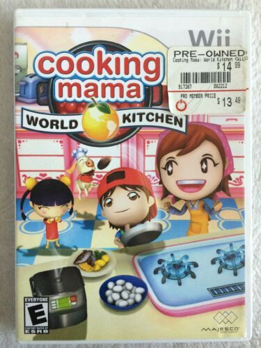 Cooking Mama: Cook Off & Cooking Mama: World Kitchen (Nintendo Wii, 2007)