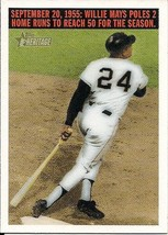2004 Topps Heritage Flashback #F5 Willie Mays Giants - $3.00
