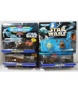 LOT OF 4 STAR WARS MICRO MACHINES MINT IN PACKAGE 1993 1994 1996 - $34.65