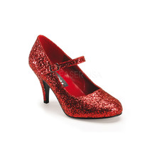 "FUNTASMA Glinda-50G 3"" Heel Pumps - Red Gltr - $41.95"