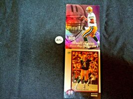 Brett Farve # 4 Green Bay Packers QB Football Trading Cards AA-19 FTC3002 Vintag image 6