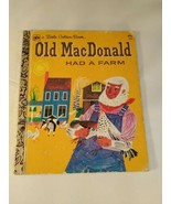 a Little Golden Book~ Old MacDonald Had A Farm 1975 - $5.93