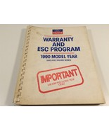 1990 Ford Trucks Warranty And ESC Program 600 and Higher Series - $19.99