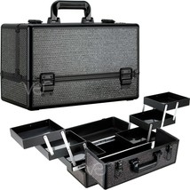 Professional Makeup Cosmetic Beauty Carry Train Case Box Storage Travel ... - $79.19