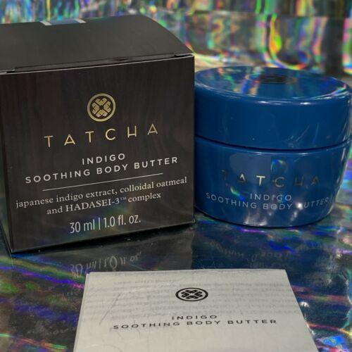 Tatcha Indigo Soothing Body Butter 1oz. (30mL) For Eczema Dry Skin Rashes