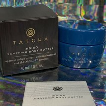 Tatcha Indigo Soothing Body Butter 1oz. (30mL) For Eczema Dry Skin Rashes