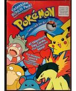 Pokemon Valentine's Day Cards for Children School Vtg 2000 Pikachu UNUSED - $19.55