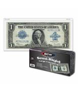 1 Pack (50) BCW Semi Rigid Large Bill Holder - $14.43