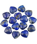 Rockcloud Healing Crystal 0.5 Inch Lapis Lazuli Carved Worry Stone Chakr... - $30.40