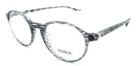 Starck Eyes Mikli Rx Eyeglasses Frames SH3035 0021 48-19-140 Striped Grey Italy - $117.60