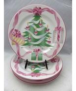 Sango - Home for Christmas pattern, 4829 - set/lot of 4 Dinner plates, EUC - $23.71