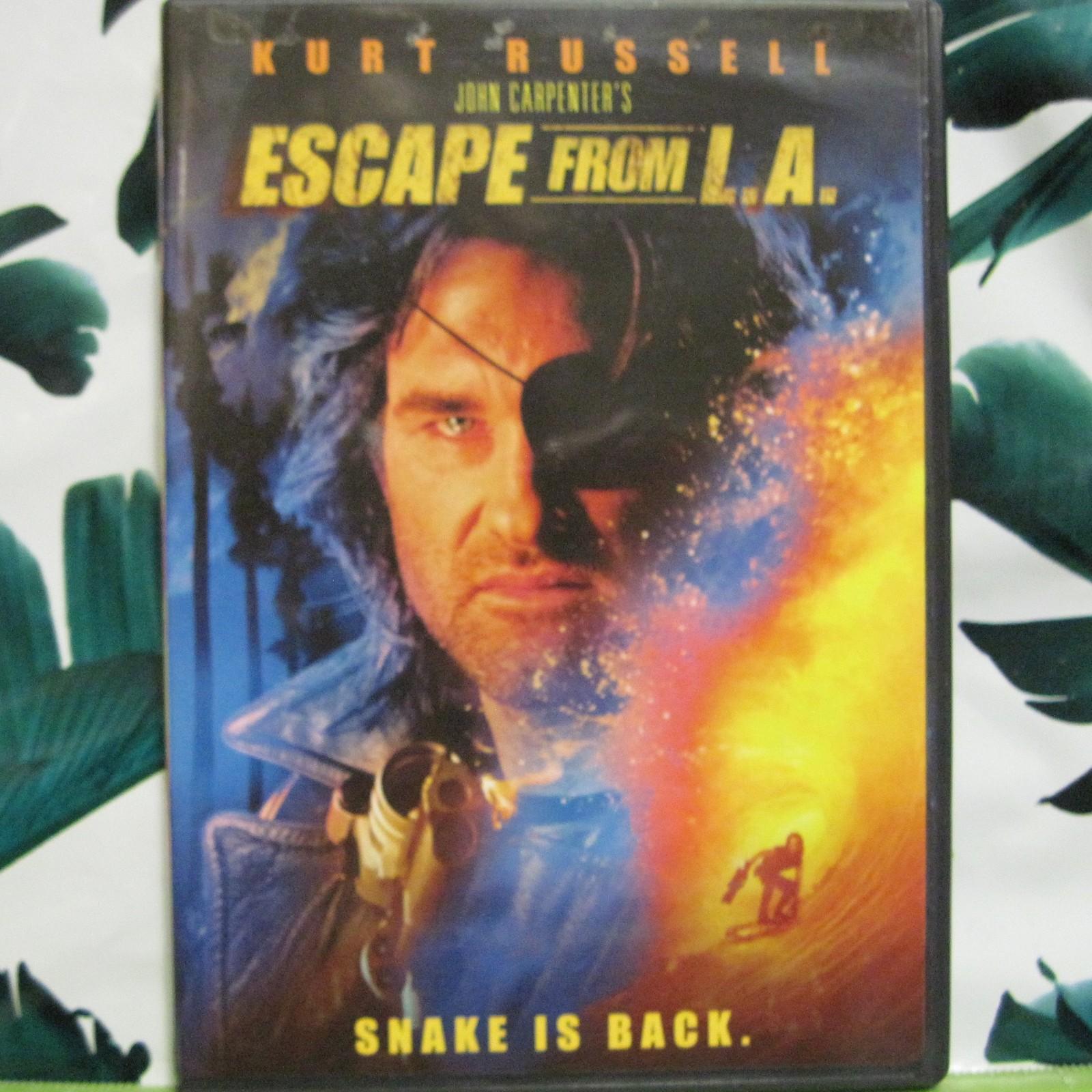 DVD Escape From L.A. Kurt Russell Stacy Keach Steve Buscemi Widescreen