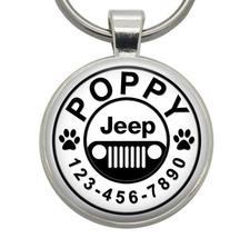 Pet ID Tag - Jeep - Dog ID Tag, Cat ID Tag, Pet Tag, Dog Tag, Cat Tag - $19.99