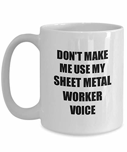 Primary image for Sheet Metal Worker Mug Coworker Gift Idea Funny Gag for Job Coffee Tea Cup 15 oz
