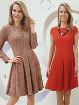 Burda Sewing Pattern 6744 Misses Ladies Dress Size 8-18 New - $13.43